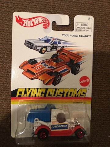 Hot Wheels Flying Tough and Sturdy Customs 3+ Dumpin