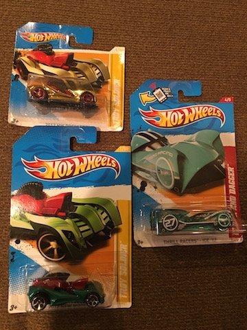 HW 2012 Troy Soldier, Green Thrill Racer Cloak & Dagger