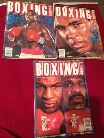 Boxing Illustrated Mike Tyson, Mohammad Ali Cover