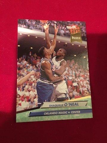 Shaquille O' Neal Rookie 92/93 Orlando Magic Center