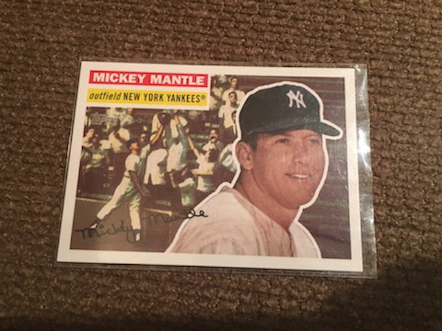 1956 Topps Mickey Charles Mantle #MM61 All Star Game