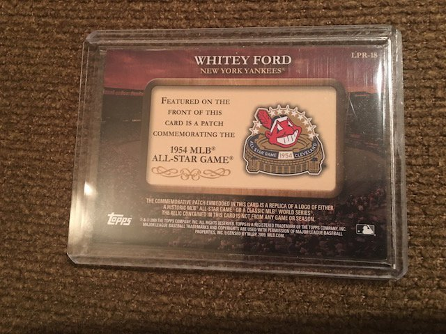 1954 Topps Whitey Ford # LPR-18 Historical - 2