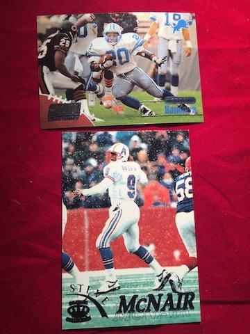 Play Football Steve McNair #49 Houston Oilers 1993 &