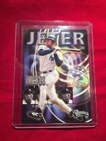 SS Derek Jeter Boss98 Thunder 9 of 20B Bio Card