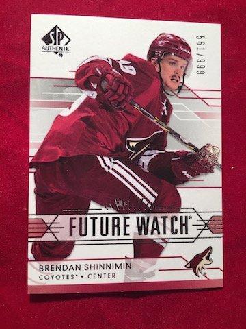 561/999 Future Watch Brendan Shinnimin #230 2014-15 SPA