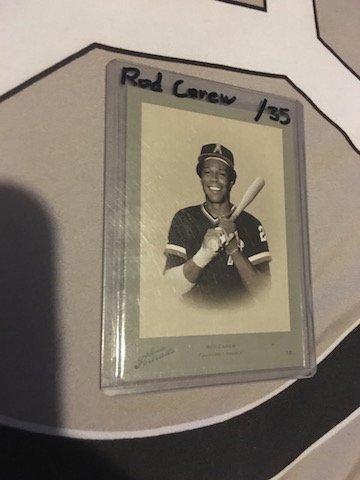 Rod Carew Donruss Zenith #SP-29 10/35 Card