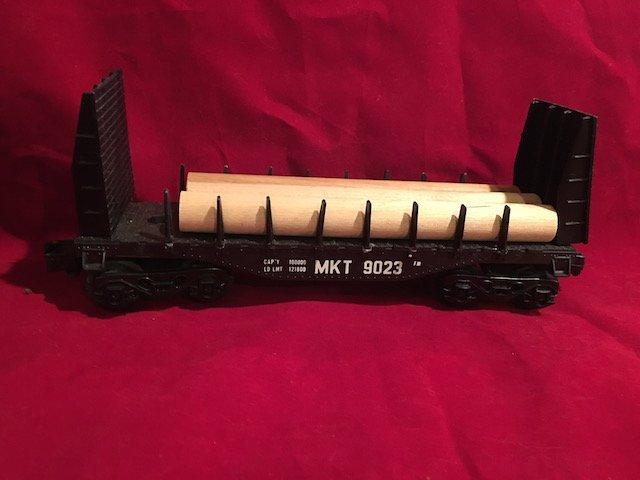 Vintage MKT (Missouri-Kansas-Texas) # 9023 Railroad