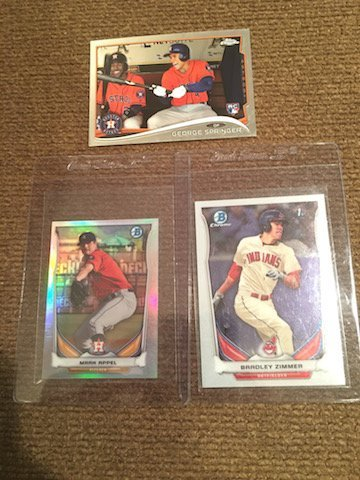 George Springer Mark Appel George Springer Topps and