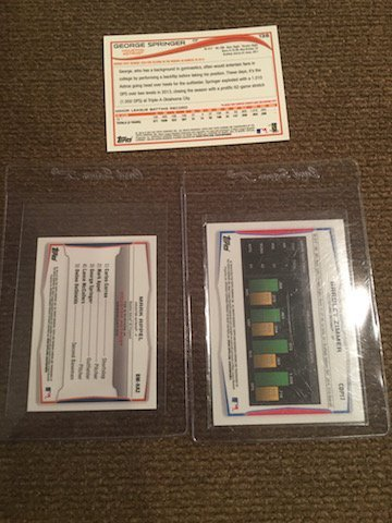 George Springer Mark Appel George Springer Topps and - 2