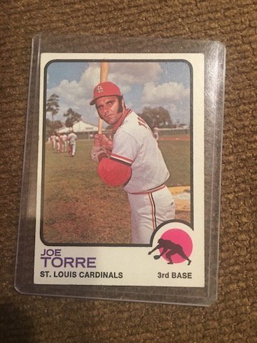 Joe Torre - 1973 Topps baseball card #450