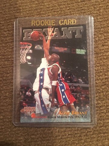 Kobe Bryant Lower Merion H.S (PA) #15 Rookie Card