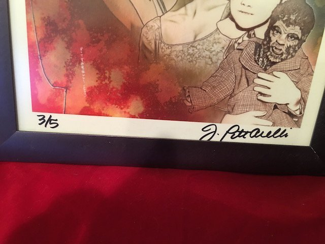 Rare Signed by Jeff Pittarelli limited edition print