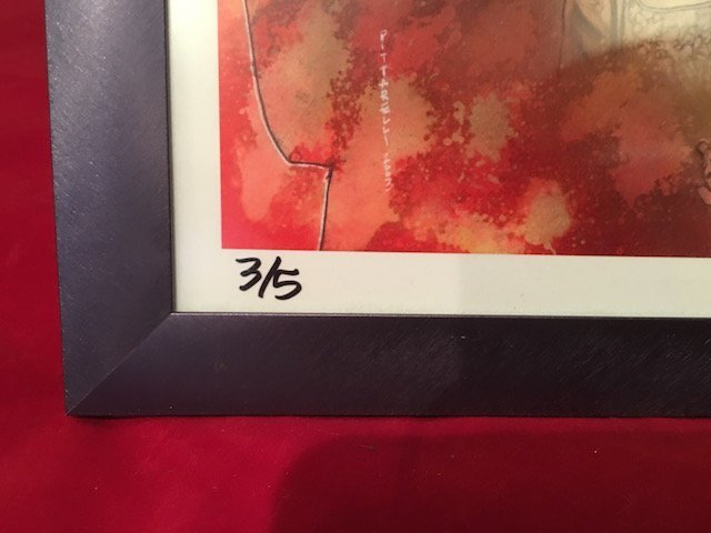 Rare Signed by Jeff Pittarelli limited edition print - 2