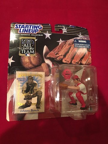 2000 Starting Lineup Johnny Bench All Century Team MLB