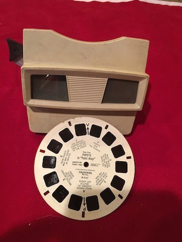 1970's Sawyers View-Master Viewer Popeye in the paint