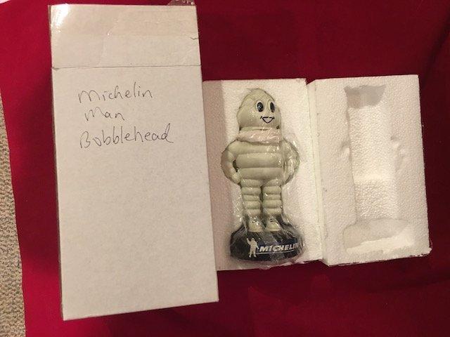 Michelin Man Bobble Head Doll New in Box