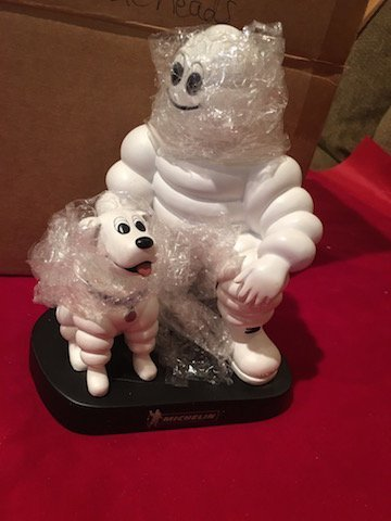 MICHELIN MAN AND DOG PROMOTIONAL BOBBLEHEAD FIGURINE - 2