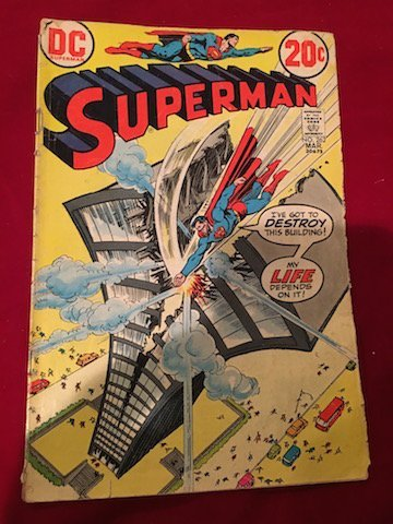 Superman Comic  #262 Fair condition