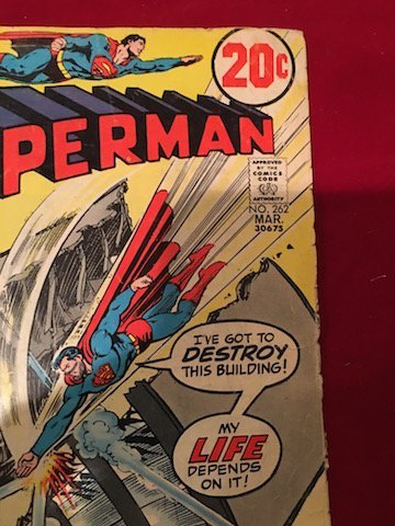 Superman Comic  #262 Fair condition - 2