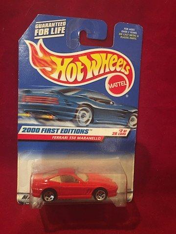 Hot Wheels 2000 First Editions FERRARI 550 MARANELLO #2