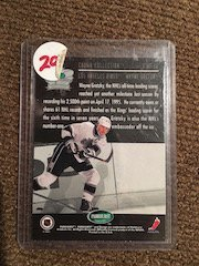 Wayne Gretzky Parkhurst Crown Collection Insert - 2