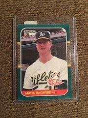Mark Mcgwire 1987 Donruss The Rookies RC