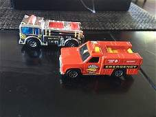 Hot Wheels Mattel 1976 Silver  Red FireEaters Fire