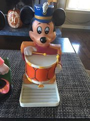Mickey Mouse 1976 Enco Soap Dish and Minnie Mouse - 2