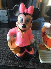 Mickey Mouse 1976 Enco Soap Dish and Minnie Mouse - 3