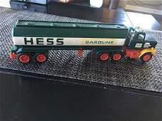 "Hess 1977 ""Gasoline Tractor Trailer Truck "" #1"