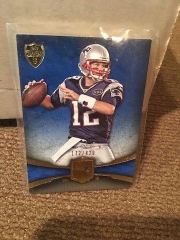 Tom Brady 2011 Topps Supreme #30 Serial #'d /429