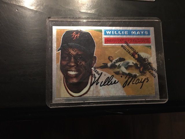 WILLIE MAYS 1996 Topps Chrome Reprint of 1954 Giants