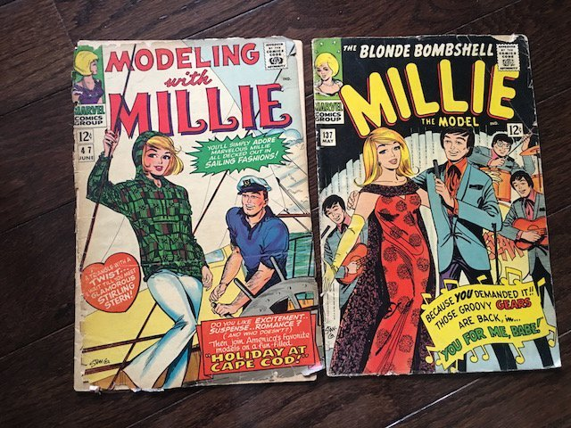 MILLIE THE MODEL #137 1966 CHEESECAKE MARVEL SILVER AGE