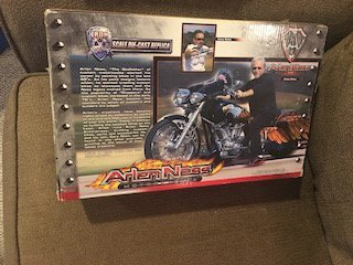 Arlen Ness Motorcycles Iron Legends Scale Die Cast - 3