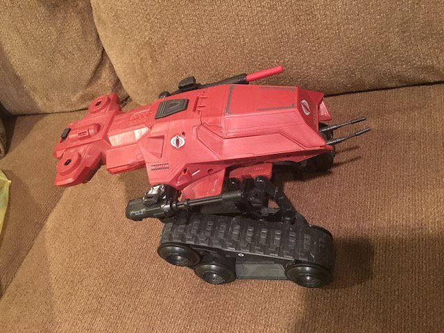 Gi Joe 25th Anniversary Hiss Tank Red - 2