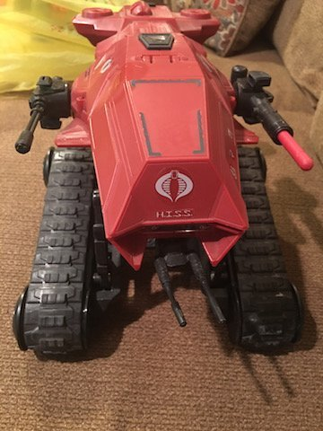 Gi Joe 25th Anniversary Hiss Tank Red - 3