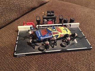 Dale Earnhardt Wrangler #3 Pit Row Hasbro Car