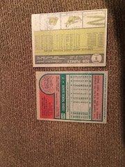 1975 topps Tom Seaver and 1961 topps bob purkey - 2