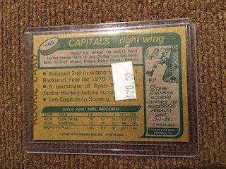 1980-81 TOPPS MIKE GARTNER RC #195 BV $20 - 2