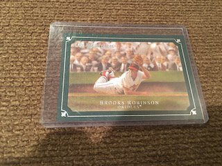 Brooks Robinson Masterpieces Green SP