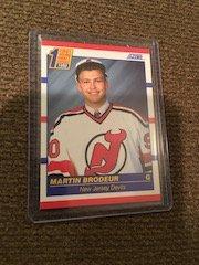 Martin Brodeur 1990 Score RC New Jersey Devils