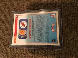 Martin Brodeur 1990 Score RC New Jersey Devils - 2