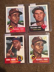 Satchell Paige Preacher Roe Hank Arron Archives Lot of