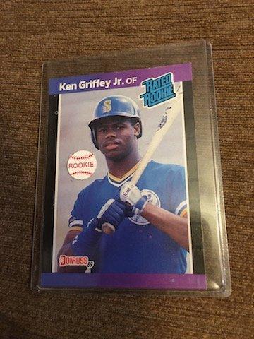 ken griffey jr 1989 Donrus RC