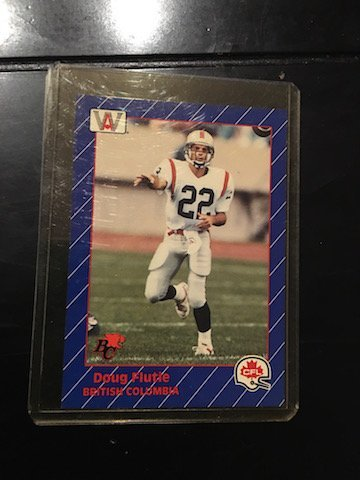 1991 All World CFL French #7 Doug Flutie
