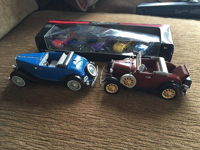 Classic Toy Car Lot
