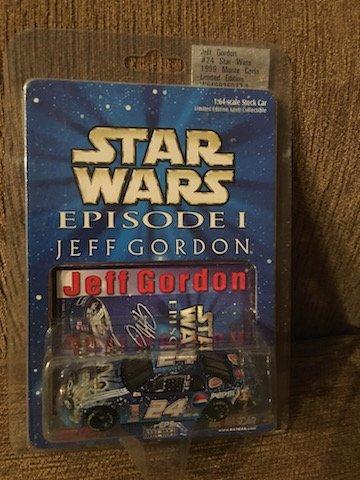 Jeff Gordon Star Wars Episode 1 1:64 Scale Limited