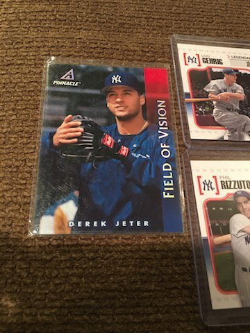 Derek Jeter and Lou Gehrig Lot with inserts - 3
