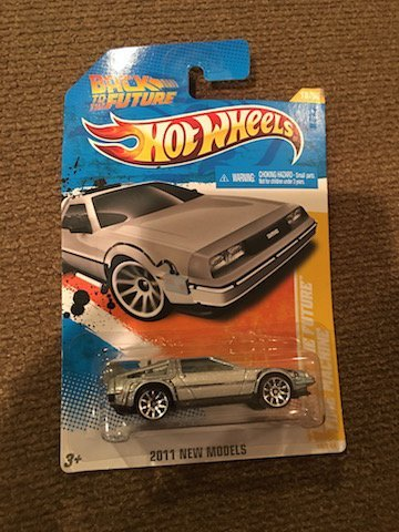 Hot Wheels Back to the future Car