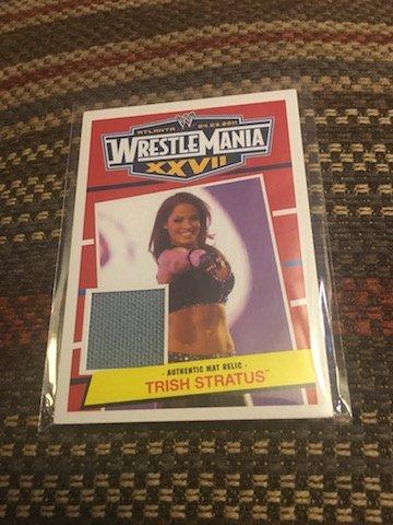 WWE Trish Stratus 2012 Topps Heritage WrestleMania 27